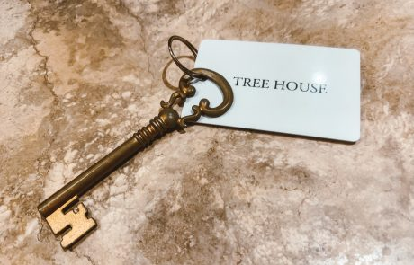 A Key to the TreeHouse at the Highland Haven Creekside Inn