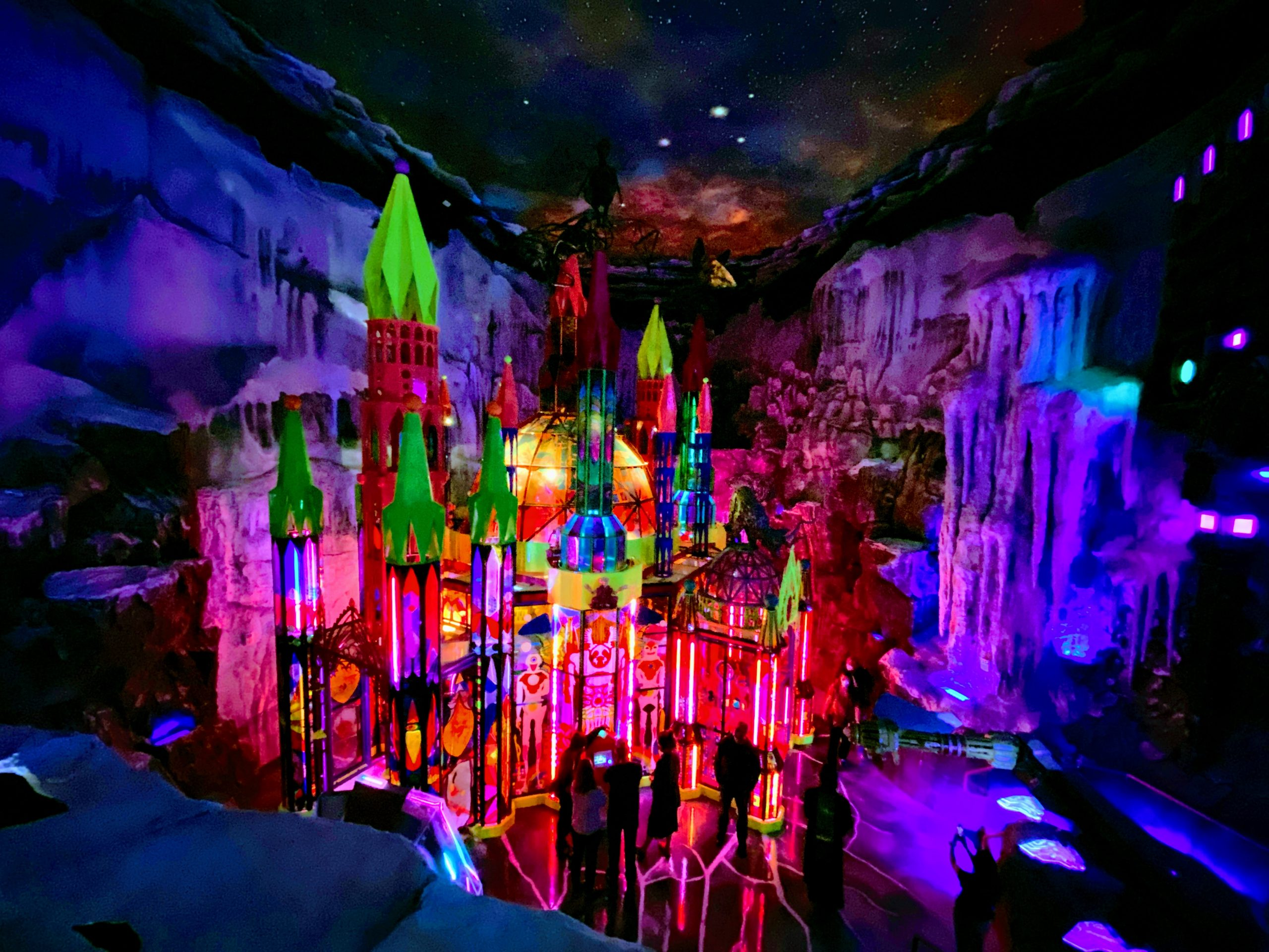 Meow Wolf Denver Convergence Station - The Cathedral