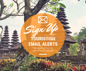 Sign Up for Touristish Email List